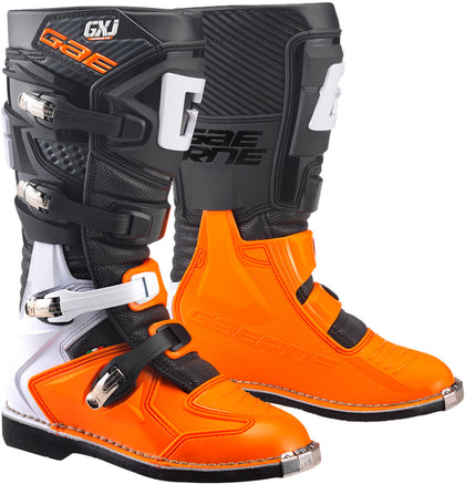 GAERNE GX-J BOOTS BLACK/ORANGE SZ 02 2169-008-02