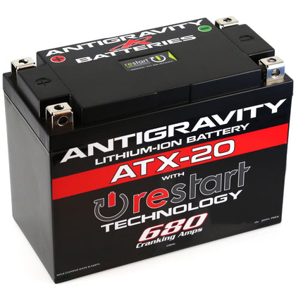 ANTIGRAVITY LITHIUM BATTERY ATX20-RS 680 CA AG-ATX20-RS
