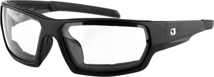 BOBSTER TREAD SUNGLASSES MATTE BLACK W/CLEAR LENS REMOVABLE FOAM BTRE001C