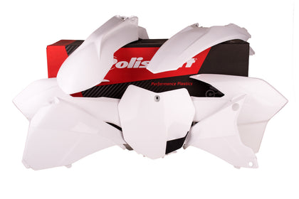 POLISPORT PLASTIC BODY KIT WHITE 90645