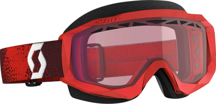 SCOTT HUSTLE X SNWCRS GOGGLE DARK RED/RED ROSE 272847-6363134