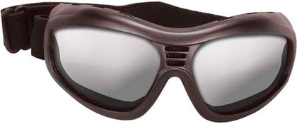 BOBSTER TOURING II SUNGLASSES BLACK W/CLEAR LENS BT2001C