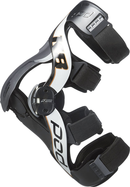 POD K8 2.0 KNEE BRACE LT CARBON/COPPER LG K8011-169-LG