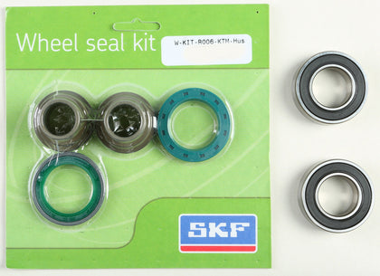 SKF WHEEL SEAL KIT W/BEARINGS REAR WSB-KIT-R006-KTM-HUS