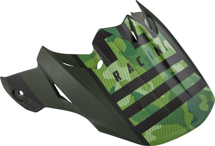 FLY RACING F2 CARBON GRANITE HELMET VISOR DARK GREEN/BLACK 73-46263
