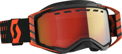 SCOTT PROSPECT SNWCRS GOGGLE ORG/BLK ENHANCER RED CHROME 272846-1008312