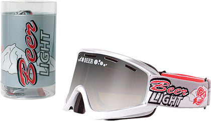 BEER OPTICS COLD BULLET GOGGLE SILVER MIRROR 067-06-808