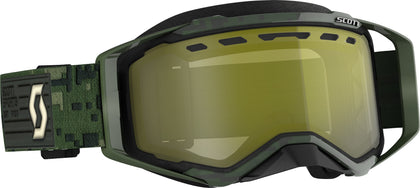 SCOTT PROSPECT SNWCRS GOGGLE KHAKI GREEN ENHANCER YELLOW CHROME 272846-6312335