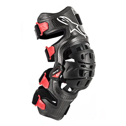 ALPINESTARS BIONIC 10 CARBON KNEE BRACE RIGHT LG 6500319-13-L