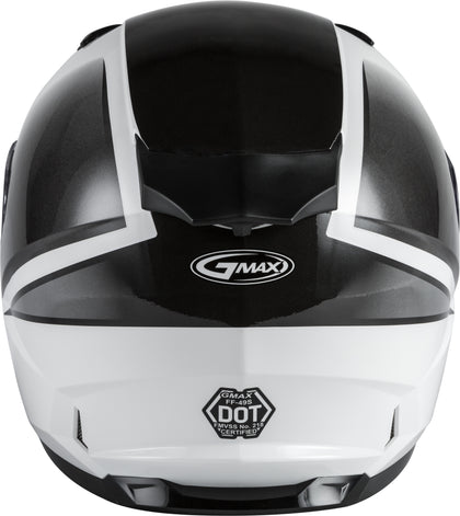 GMAX FF-49S FULL-FACE HAIL SNOW HELMET WHITE/BLACK SM G2495014