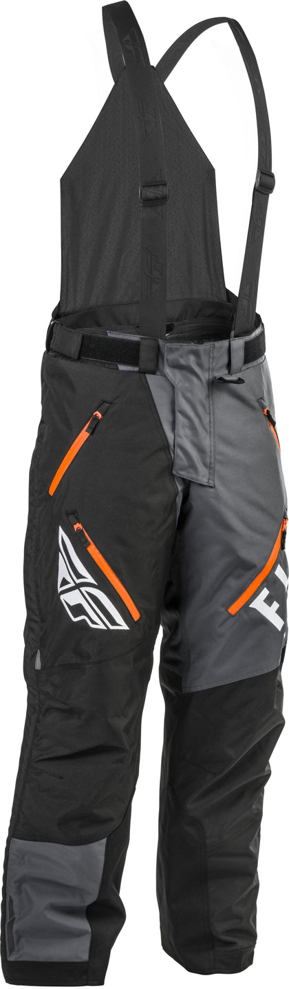 FLY RACING SNX PRO BIB BLACK/GREY/ORANGE XL-T 470-4251XLT