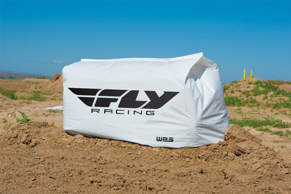 FLY RACING BALE COVER WHITE FLY HAY BALE COVER