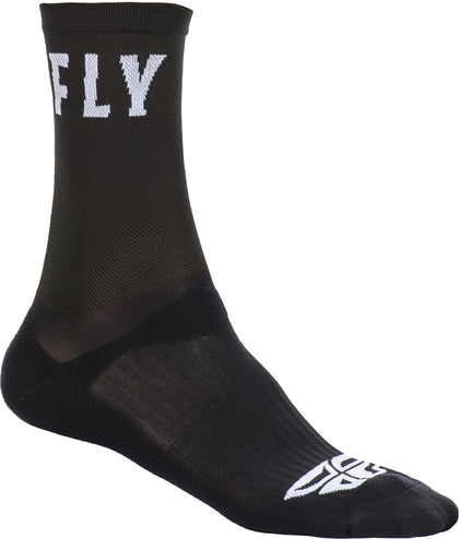 FLY RACING FLY CREW SOCKS BLACK SM/MD SPX009488-A1