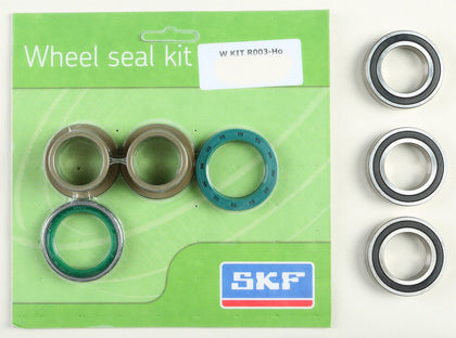 SKF WHEEL SEAL KIT W/BEARINGS REAR WSB-KIT-R003-HO