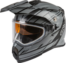 Load image into Gallery viewer, AT-21S ADVENTURE EPIC SNOW HELMET MATTE GREY/BLACK XL-atv motorcycle utv parts accessories gear helmets jackets gloves pantsAll Terrain Depot