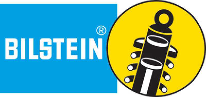 Bilstein B6 Series HD 36mm Monotube Strut Assembly - Lower-Clevis, Upper-Stem, Yellow