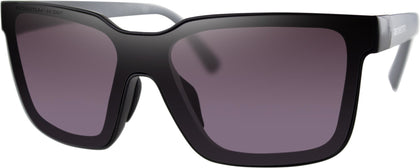 BOBSTER BOOST SUNGLASSES MATTE BLACK W/GREY/PURPLE/SLVR MIR BBST001H
