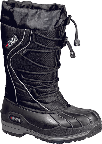 BAFFIN WOMEN'S ICE FIELD BOOTS BLACK SZ 06 4010-0172-001-06