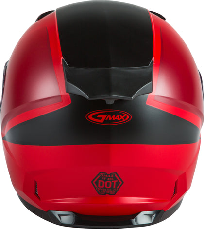 GMAX FF-49S FULL-FACE HAIL SNOW HELMET MATTE RED/BLACK MD G2495035