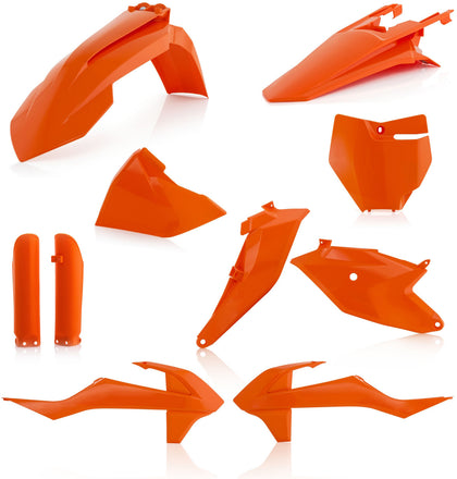 ACERBIS FULL PLASTIC KIT ORANGE 2686025226