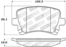 Load image into Gallery viewer, StopTech Performance 06-09 Audi A3 / 05-09 Audi A4/A6 / 08-09 Audi TT / 06-09 VW GTI / 06-09 Jetta