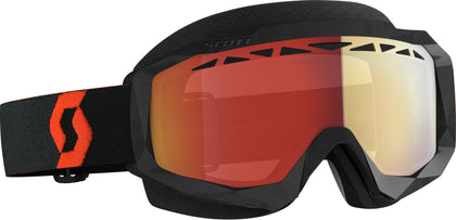 SCOTT HUSTLE X SNWCRS GOGGLE ORG/BLK ENHANCER RED CHROME 274515-1008312