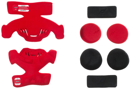 POD K300 KNEE BRACE PAD SET RED (LEFT) KP430-003-OS