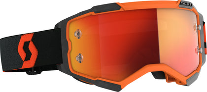 SCOTT FURY GOGGLE ORANGE/BLACK ORANGE CHROME WORKS 272828-1008280