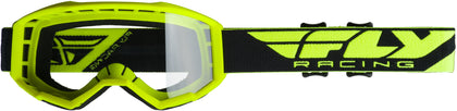 FOCUS GOGGLE HI-VIS YELLOW W/CLEAR LENS
