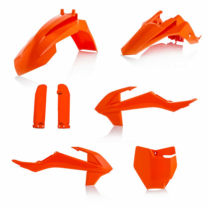 ACERBIS FULL PLASTIC KIT ORANGE KTM 2791525226