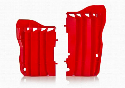 ACERBIS RADIATOR LOUVERS RED 2691510227