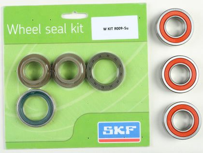 SKF WHEEL SEAL KIT W/BEARINGS REAR WSB-KIT-R009-SU