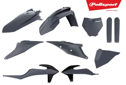 POLISPORT PLASTIC BODY KIT NARDO GREY 90814
