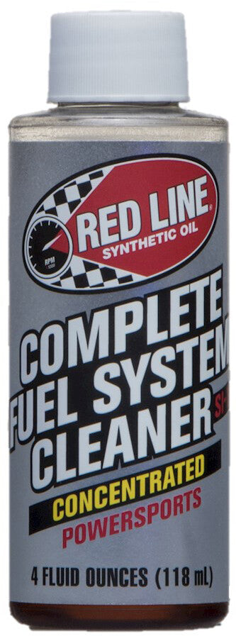 RED LINE COMPLETE FUEL SYSTEM CLEANER 4OZ 60102
