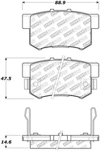 Load image into Gallery viewer, StopTech Street Select Brake Pads - Front/Rear