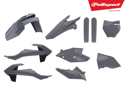 POLISPORT PLASTIC BODY KIT NARDO GREY 90825