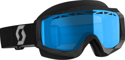SCOTT HUSTLE X SNWCRS GOGGLE BLK/GRY ENHANCER TEAL CHROME 274515-1001315