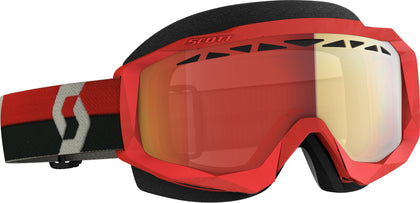 SCOTT HUSTLE X SNWCRS GOGGLE RED/GRY ENHANCER RED CHROME 274515-1010312
