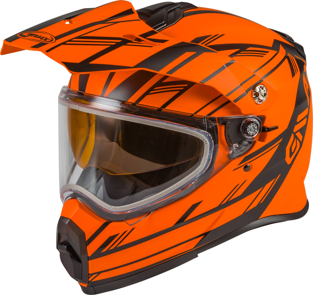 AT-21S ADVENTURE EPIC SNOW HELMET MATTE NEON ORNG/BLK 2X-atv motorcycle utv parts accessories gear helmets jackets gloves pantsAll Terrain Depot