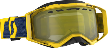 SCOTT PROSPECT SNWCRS GOGGLE YLW/YLW ENHANCER YELLOW CHROME 272846-6360335
