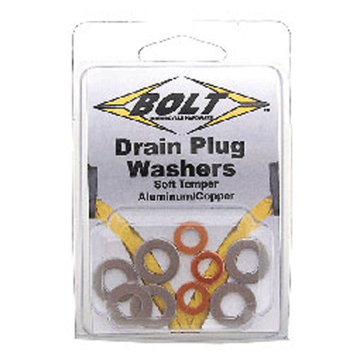 Aluminum Drain Plug Compression Washers DPWM8.15-50-atv motorcycle utv parts accessories gear helmets jackets gloves pantsAll Terrain Depot