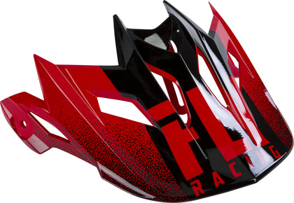 FLY RACING DEFAULT 2019 HELMET VISOR RED/BLACK 73-91122