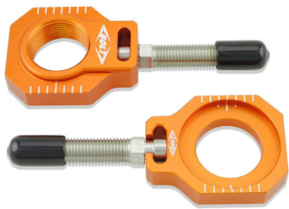 BOLT CHAIN ADJUSTER BLOCKS KTM ORANGE CHAD-KTM2.OR