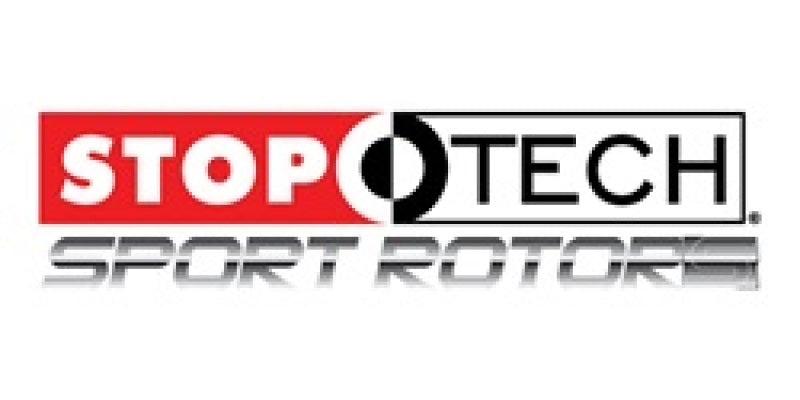 StopTech Select Sport 09-13 Subaru Forester Slotted and Drilled Left Front Rotor