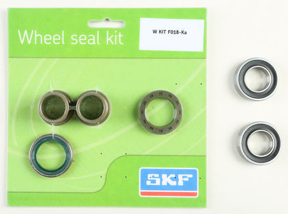 SKF WHEEL SEAL KIT W/BEARINGS FRONT WSB-KIT-F018-KA