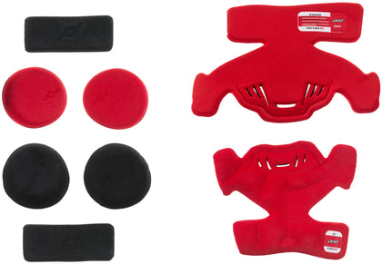 POD K300 KNEE BRACE PAD SET RED (RIGHT) KP431-003-OS