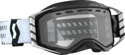 SCOTT PROSPECT SNWCRS GOGGLE BLACK/WHITE CLEAR 272846-1007043