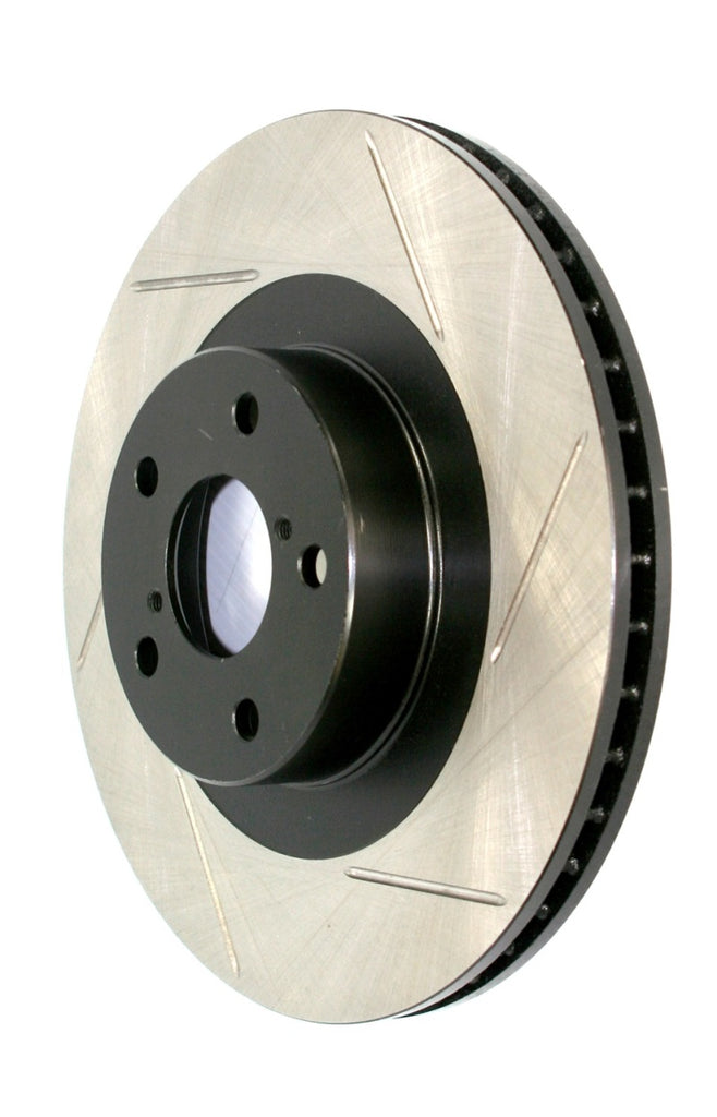 StopTech Power Slot 05-10 VW Jetta (except Wagon) Front Right Slotted Rotor