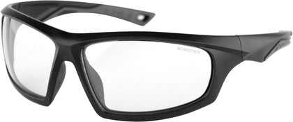 BOBSTER VAST SUNGLASSES MATTE BLACK W/CLEAR LENS BVAS001C