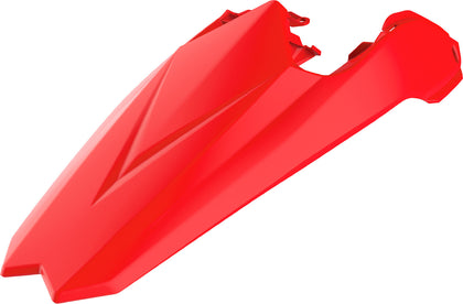 POLISPORT BETA REAR FENDER PLASTIC RED 8556000004